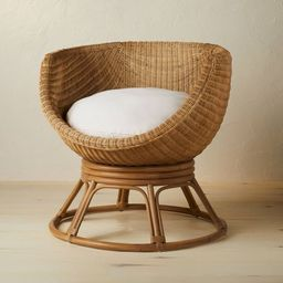 Castilia Rattan Egg Chair Ivory - Opalhouse™ designed with Jungalow™ | Target