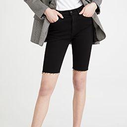 Tamryn Denim Bike Shorts | Shopbop