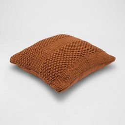 Chunky Patterned Weave Square Throw Pillow - Project 62™ | Target