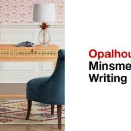 Minsmere Writing Desk with Drawers - Opalhouse™ | Target