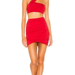 superdown Marina Skirt Set in Red. - size M (also in L, XL) | Revolve Clothing (Global)