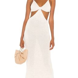 Cult Gaia Serita Dress in White. - size XS (also in M) | Revolve Clothing (Global)