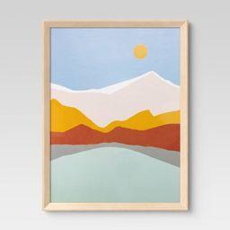 Wedge Poster Frame Natural - Room Essentials™ | Target