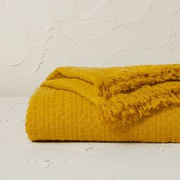 Oversized Waffle Weave Bed Throw - Opalhouse™ designed with Jungalow™   Target