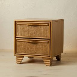 Woven Drawer Nightstand - Opalhouse™ designed with Jungalow™   Target