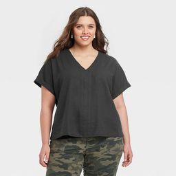Women's Short Sleeve Blouse - Universal Thread™ | Target
