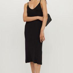 Ribbed Jersey Dress | H&M (US)