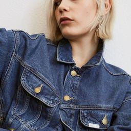 Lyocell-blend Denim Jacket | H&M (US)