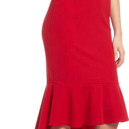 Off the Shoulder High/Low Midi Dress | Nordstrom