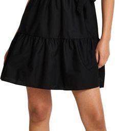 Gabrielle Puff Sleeve Faux Wrap Minidress   Nordstrom