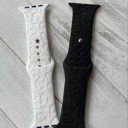 Leopard Engraved Watch Band   Etsy (US)