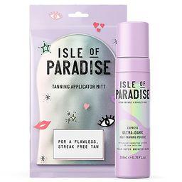 Isle of Paradise Ultra-Dark Self-Tanning Mousse w/ Mitt | QVC