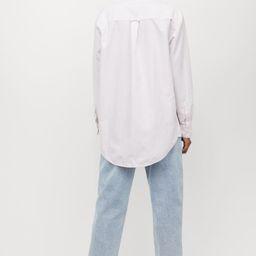 Oversized Oxford Shirt   H&M (US)