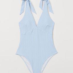 High Leg Swimsuit   H&M (US)