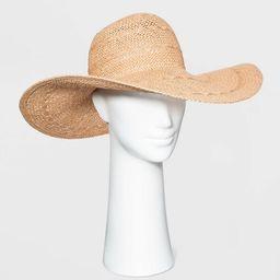 Women's Straw Floppy Hat - A New Day™ | Target