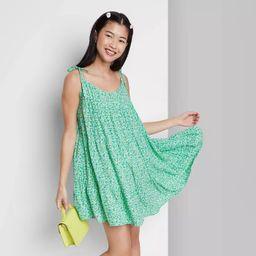Women's Woven Sleeveless Tiered Swing Dress - Wild Fable™ | Target
