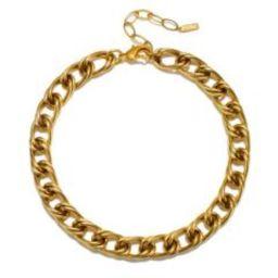 Jordan Chain Choker Necklace   Sequin