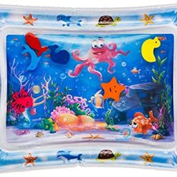 Splashin'kids Inflatable Tummy Time Premium Water mat Infants and Toddlers is The Perfect Fun tim... | Amazon (US)