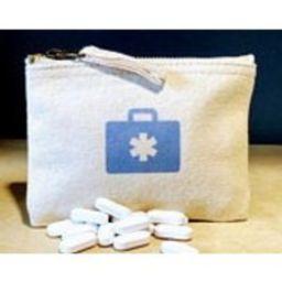 Medicine Purse, pill purse, tablet, grandad or grandma gift, mini first aid or plaster zipper   Etsy (US)