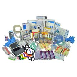 Lightning X Basic Lightning X Premium Stocked Medic First Aid Trauma Fill Kit w/ Emergency Medical S   Walmart (US)