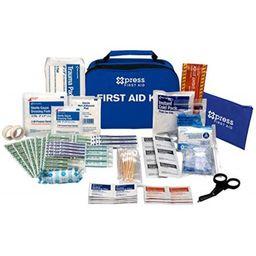 xpress first aid 156 piece multi-purpose first aid kit   Walmart (US)