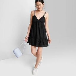 Women's Sleeveless Triangle Cup Breezy Dress - Wild Fable™ | Target