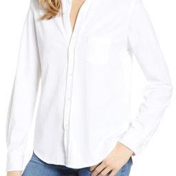 Tee Lab Knit Button Down Shirt   Nordstrom