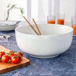 Better Homes & Gardens White Porcelain Round Bowl   Walmart (US)