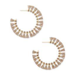Evie Gold Hoop Earrings in Gold   Kendra Scott