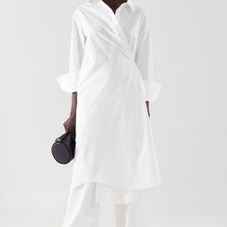 WRAP SHIRT DRESS | COS (Global)