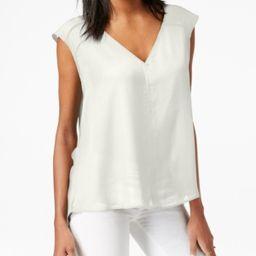 Bar Iii Women's Sleeveless Washed White Blouse Size Xs   Walmart (US)