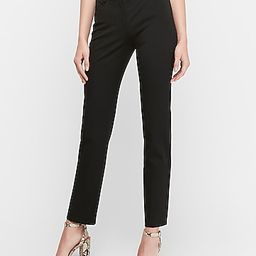 High Waisted Paperbag Ankle Pant   Express