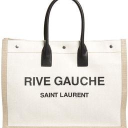 Noe Rive Gauche Logo Canvas Tote | Nordstrom