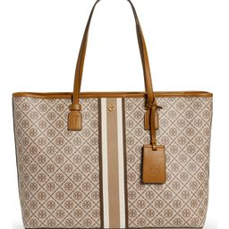 Monogram Coated Canvas Tote | Nordstrom
