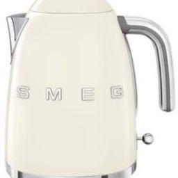 Smeg KLF03CRUS 50's Retro Style Aesthetic Electric Kettle with Embossed Logo, Cream   Amazon (US)