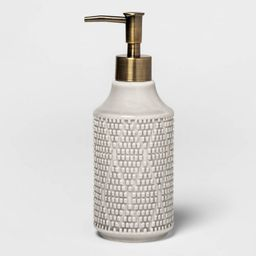 Canby Ceramic Soap Pump Gray - Threshold™   Target