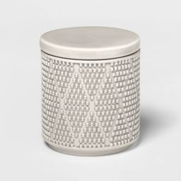 Canby Ceramic Canister Gray - Threshold™   Target
