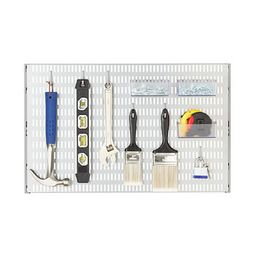 Platinum Elfa Utility Pegboard Starter Kit   The Container Store