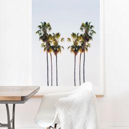 "Society6 Chelsea Victoria Make Me Sway Unframed Art Print and Hanger Wall Art, Green, 16"" x 20"" -...   Walmart (US)"
