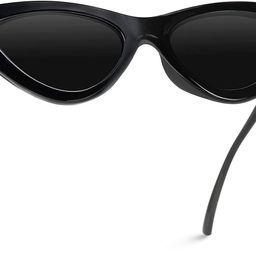 WearMe Pro - Retro Vintage Tinted Lens Cat Eye Sunglasses | Amazon (US)