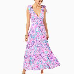 Maxine Midi Dress   Lilly Pulitzer