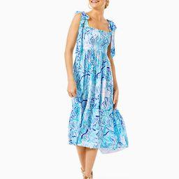 Rivera Midi Dress   Lilly Pulitzer