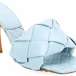 VETASTE Women's Square Open Toe Heeled Woven Leather Mule Sandals Stiletto Slip On Quilted High H...   Amazon (US)