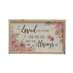 Vintage Romance Love You Still Wall Sign by Ashland® | Michaels Stores