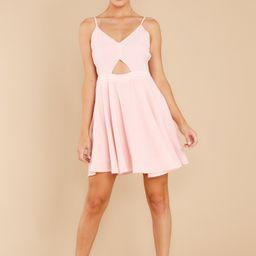 Devoted Dreamer Light Pink Dress | Red Dress
