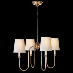 Vendome Small Chandelier in Various Colors and Designs – BURKE DECOR | Burke Decor