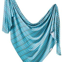 Copper Pearl Large Premium Knit Baby Swaddle Receiving Blanket Milo | Amazon (US)