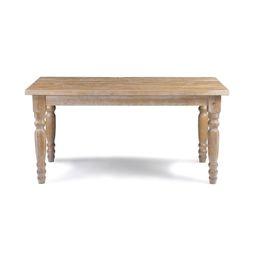 Valerie 36'' Pine Solid Wood Dining Table | Wayfair North America
