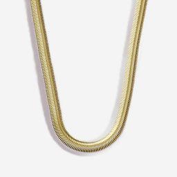 Herringbone Snake Chain Necklace   Victoria Emerson