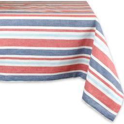 "DII 100% Cotton, Machine Washable, Dinner, Summer & Picnic Tablecloth, 60 x 120"", Patriotic Strip...   Amazon (US)"